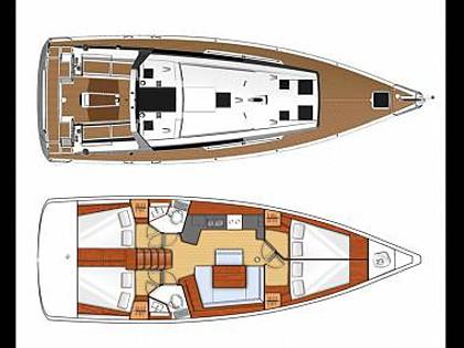 Oceanis 45 (CBM Realtime) - Sibenik - Charter navi Croazia