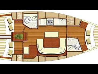 Dufour 385 (CBM Realtime) - Kastel Gomilica - Charter plavidlá Chorvátsko