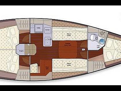 Salona 37 (CBM Realtime) - Kastel Gomilica - Czarter statki Chorwacja
