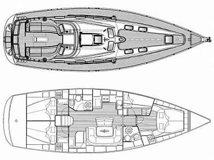 Bavaria 46 Cruiser (CBM Realtime) - Биоград - Чартер ХорватияХорватия