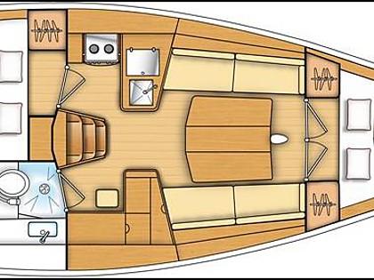 First 35 (CBM Realtime) - Kastel Gomilica - Czarter statki Chorwacja