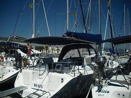 Cyclades 39.3 (CBM Realtime) - Dubrovnik - Charter ships Croatia
