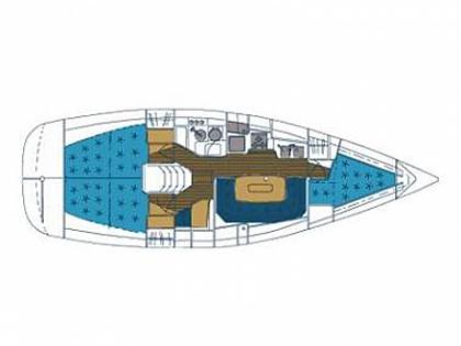 Elan 36 (CBM Realtime) - Krvavica - Charter embarcation Croatie