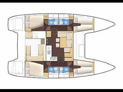Lagoon 400 S2 (CBM Realtime) - Dubrovnik - Charter boten Kroatië