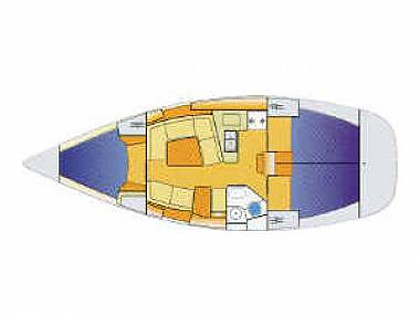 Sun Odyssey 37 (CBM Realtime) - Vodice - Charter Boote Kroatien