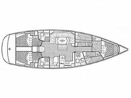 Bavaria 50 Cruiser (CBM Realtime) - Kastel Gomilica - Charter ships Croatia