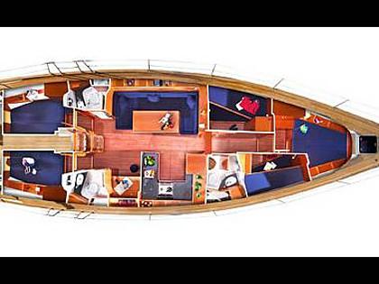 Bavaria 51 Cruiser (CBM Realtime) - Sukosan - Charter hajókHorvátország