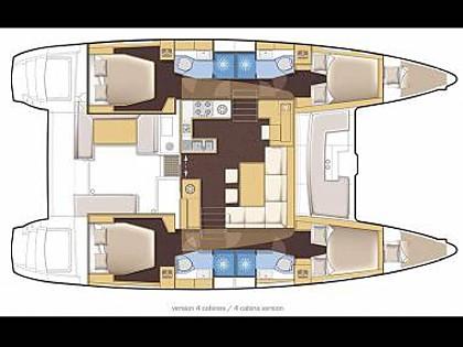 Lagoon 450 (CBM Realtime) - Pula - Charter hajókHorvátország