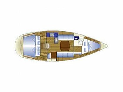 Bavaria 36 (CBM Realtime) - Split - Charter ships Croatia