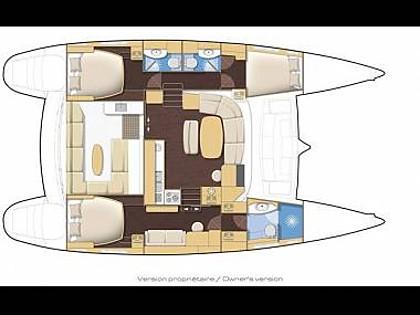 Lagoon 440 (CBM Realtime) - Kastel Gomilica - Charter plovila Hrvaška
