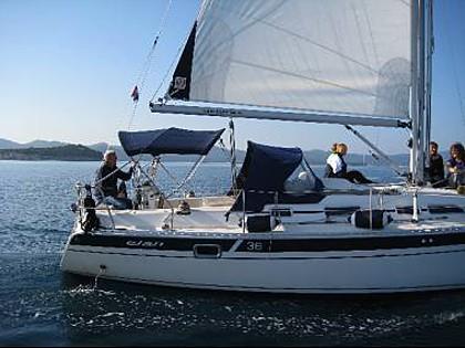 Elan 36 (CBM Realtime) - Zadar - Charter boten Kroatië