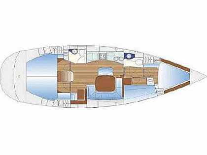 Bavaria 44 (CBM Realtime) - Krvavica - Charter Boote Kroatien