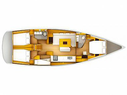 Sun Odyssey 509 (CBM Realtime) - Seget Donji - Charter Boote Kroatien