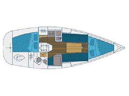 Elan 31 (CBM Realtime) - Biograd - Charter Boote Kroatien