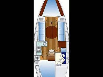Hunter/Legend 356 (CBM Realtime) - Krvavica - Charter boten Kroatië