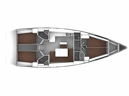 Bavaria Cruiser 46 (CBM Realtime) - Kastel Gomilica - Charter embarcation Croatie
