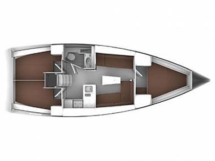 Bavaria Cruiser 37 (CBM Realtime) - Задар - Чартер ХорватияХорватия