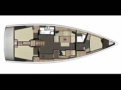 Dufour 410 Grand Large (CBM Realtime) - Kastel Gomilica - Charter ships Croatia