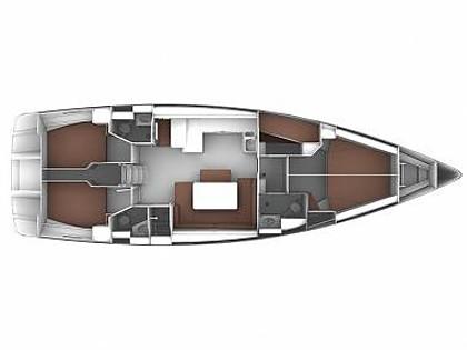 Bavaria Cruiser 51 (CBM Realtime) - Sukosan - Charter hajókHorvátország