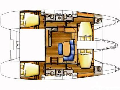 Lagoon 420 (CBM Realtime) - Betina - Charter boten Kroatië
