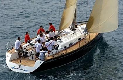 Salona 45 (code:PLA 86) - Sibenik - Charter navi Croazia