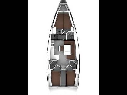 Bavaria 46 Cruiser (CBM Realtime) - Murter - Charter boten Kroatië