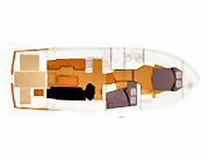Swift Trawler 42 (CBM Realtime) - Zadar - Charter embarcation Croatie