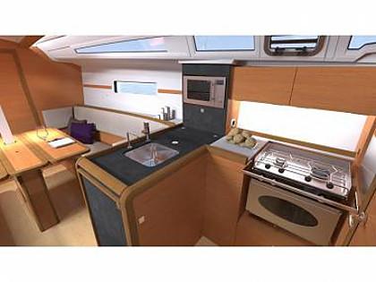 Sun Odyssey 349 (CBM Realtime) - Sukosan - Charter hajókHorvátország
