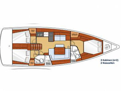 Oceanis 45 (CBM Realtime) - Sukosan - Charter embarcation Croatie