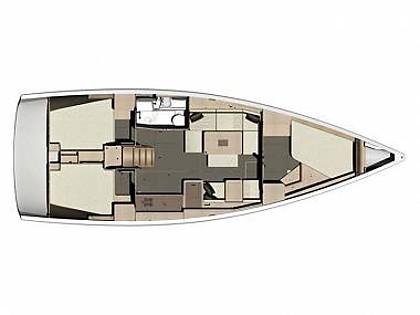Dufour 410 Grand Large (CBM Realtime) - Сукошан - Чартер ХорватияХорватия