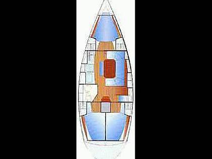 Bavaria Cruiser 37 (CBM Realtime) - Трогир - Чартер ХорватияХорватия