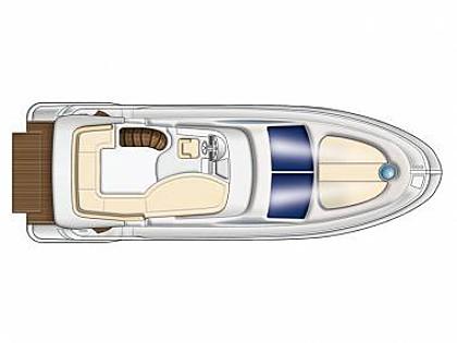 Azimut 43 (CBM Realtime) - Sibenik - Charter hajókHorvátország