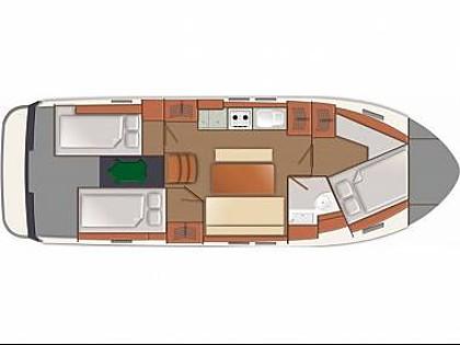 Delphia 1050 Escape (CBM Realtime) - Primosten - Charter embarcation Croatie