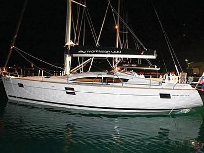Elan 444 Impression (CBM Realtime) - Mali Lošinj - Charter plovila Hrvaška