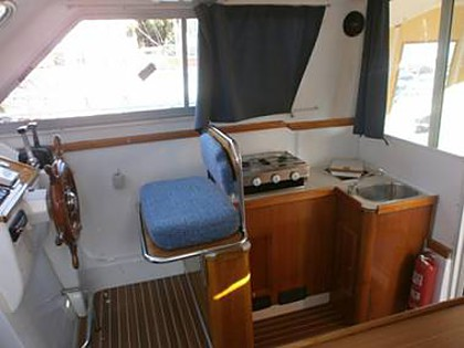 Adria 1002 (CBM Realtime) - Zadar - Charter ships Croatia