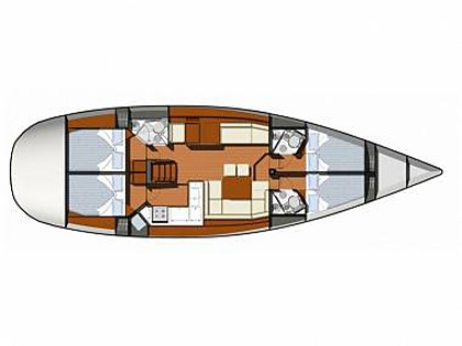Sun Odyssey 50DS (CBM Realtime) - Sukosan - Charter Boote Kroatien