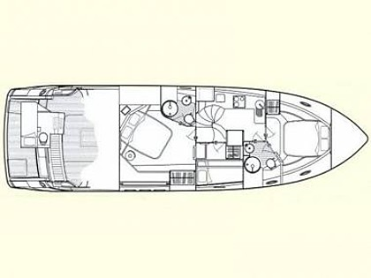 Sunseeker Manhattan 50 (CBM Realtime) - Sukosan - Charter Boote Kroatien