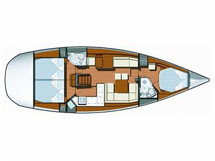 Sun Odyssey 45DS (CBM Realtime) - Sukosan - Charter ships Croatia