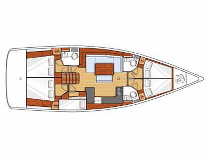 Oceanis 48 (CBM Realtime) - Sibenik - Charter ships Croatia