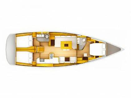 Sun Odyssey 509 (CBM Realtime) - Sibenik - Charter hajókHorvátország