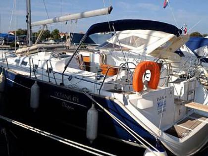 Oceanis 473 (CBM Realtime) - Sukošan - Charter plovila Hrvatska