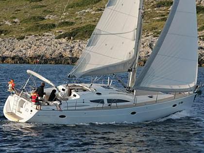 Elan 434 Impression (code:PLA 113) - Kastel Gomilica - Charter Boote Kroatien