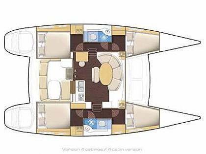 Lagoon 380 (CBM Realtime) - Šibenik - Charter plavidlá Chorvátsko