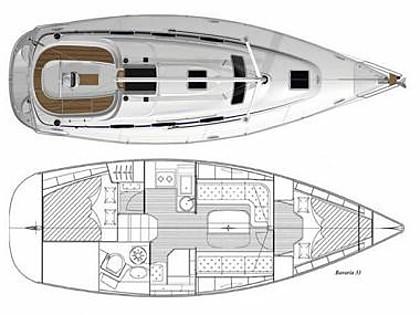 Bavaria Cruiser 33 (CBM Realtime) - Punat - Charter navi Croazia