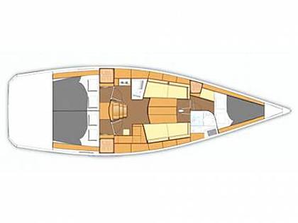 Oceanis 40 (CBM Realtime) - Punat - Charter Boote Kroatien