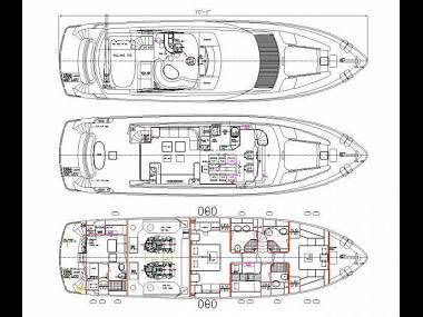 Elegance 76 (CBM Realtime) - Sibenik - Czarter statki Chorwacja