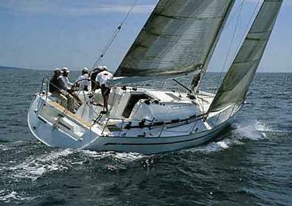Bavaria 42 (code:PLA 132) - Trogir - Charter ships Croatia
