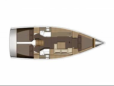 Dufour 382 GL (CBM Realtime) - Kastel Gomilica - Charter Boote Kroatien