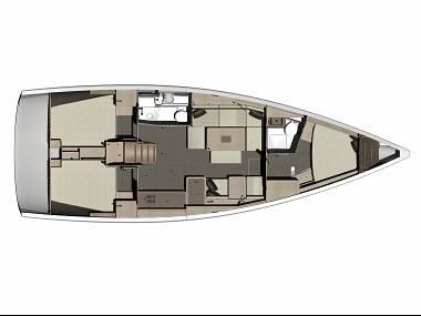 Dufour 410 Grand Large (CBM Realtime) - Jezera - Czarter statki Chorwacja