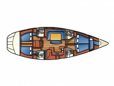 Sun Odyssey 52.2 Vintage (CBM Realtime) - Primosten - Czarter statki Chorwacja